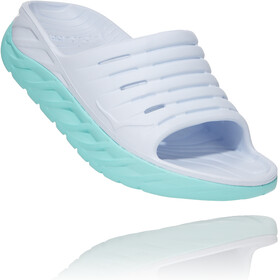 Hoka One One Ora Recovery Slide 2 Dames, white/blue tint